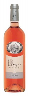 Le Demon de L'Eveque Rose: Víno Pierre Richard-Chateau Bel Eveque,  0,75 l